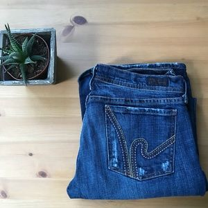 Citizens of Humanity Stretch Flare Jeans Sz 30